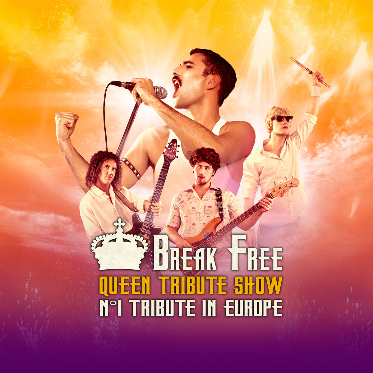 Break Free - Queen Tribute Show