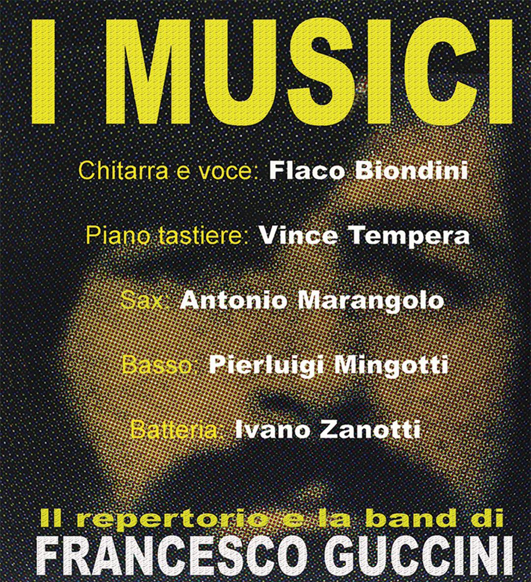 I Musici di Francesco Guccini (rinviato al 21/08/2020)